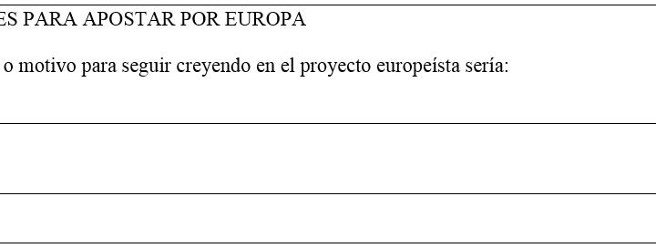 Razones para apostar por Europa